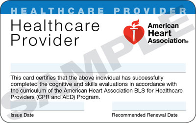 BLS for the Healthcare Provider